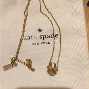 Kate Spade Magic Rabbit Crystal Necklace